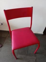 Par de Cadeiras vermelhas Tok Stok