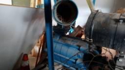 Motor de irrigação a diesel