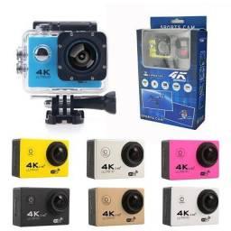"""Kit Câmera Com Acessórios (Go Pro Full HD 1080P) - Tela LCD de 2 P"""" Frete Grátis!"""