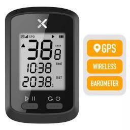 Ciclocomputador velocímetro XOSS G sem fio GPS STRAVA