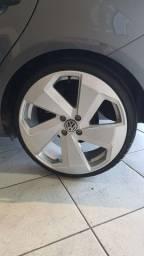 Roda 18 Golf GTI furação 4x100 com pneu 185/35 r18