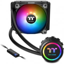 Water Cooler Thermaltake 3.0, RGB Sync 120mm, Intel/AMD, Novo (lacrado), Nf e garantia