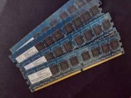 Memórias RAM DDR2 de 1Gb NANYA