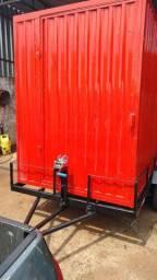 Carretinha para transporte de containers