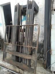 Torre triplex para instalar em trator ou empilhadeira
