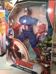 Capitão América gigante original Marvel troco