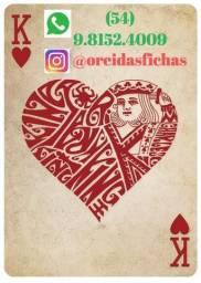 [O Rei das Fichas] Envio imediato 24h por dia p/ Pokerstars