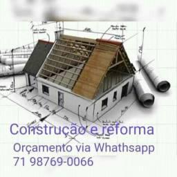 Construção de imóveis e reformas