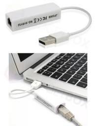 Adaptador de Rede USB Externa Rj45 Lan Ethernet 10/100