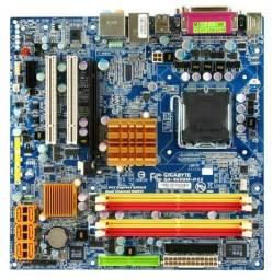 Kit Placa-mãe Processador Pentium 6gb Ddr2 Hd 160 Gb F.400w