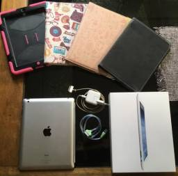 Apple ipad 3ª geração (2012/1) 32gb modelo a1416 - usado