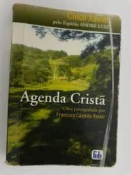 Livro Agenda Cristã - Autor Chico Xavier