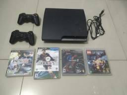 Playstation Ps3 4 Jogos Originais