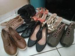 Doação de roupas e sapatos
