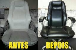 Reforma de cadeira de escritório