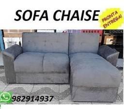 Solicite e Receba No Mesmo Dia!Lindo Sofa Chaise Novo Super Barato Apenas 499,00