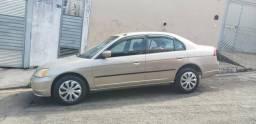 Honda Civic Lx Automático 2002 - 2002
