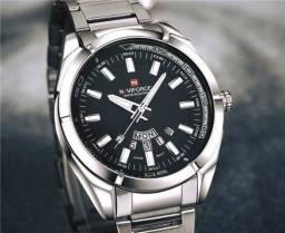 Relógio Masculino, Excelentes detalhes, NOVO 100% funcional, pronta entrega, LEIA a descri