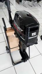 Motor de popa mercury 15hp super 2019