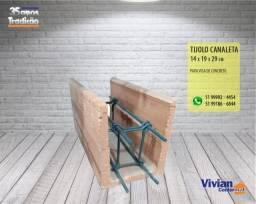 Tijolo Canaleta 14 x 19 x 29cm - Promoção!