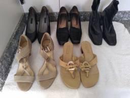 Sapatos Luz da Lua, Corello, Menfis e Arezzo