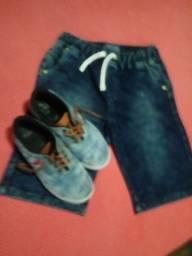Short jeans menino