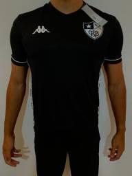 Camisa Botafogo - Uniforme Masculino - Preto - Envio por Sedex