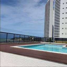Apartamento tipo flat, mobiliado, localizado na avenida Praia de Ponta