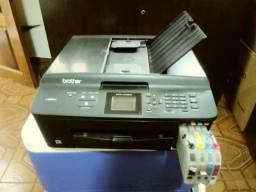 Impressora Brother MFC-J430W Wi-Fi Usada