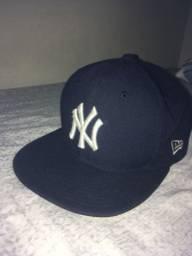 Boné new York azul (novo)