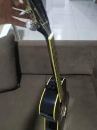 Vendo violão memphis preto