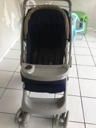 Carrinho de Bebê Galzerano Pegasus Azul