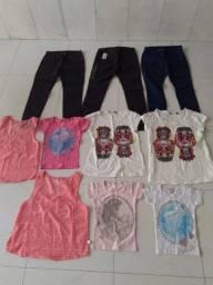 Mega promoção - Lote de roupas, contendo 10 peças