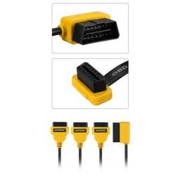 Cabo Divisor Autoool Obd2 Y 50 Cm 1 A 3 Conversor Adapter