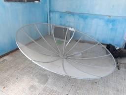 Vendo kit de antena parabólica de 2 m