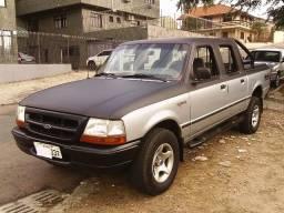 Ford Ranger 12E 2.5i 4Pts Cab. Dupla 1999 Completa(Ar C. Gelando) c/ Gnv Legalizado!!