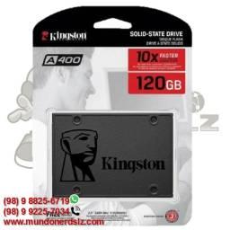 SSD 120 Gb Sata 3 Kingston A400 450 Mb/s em São Luís Ma