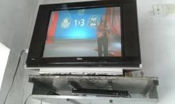 TV 29 POL. PHILCO TUBO C/ CONVERSOR E DVD  R$ 200,00