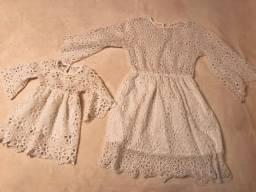 Vestido Tal Mãe Tal Filha Tam. 1 e M