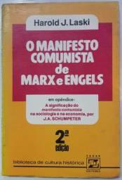 Livro: O Manifesto Comunista de Marx e Engels