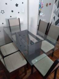 Vendo Sofa, Mesa de jantar e Rack