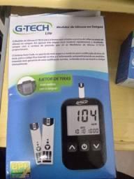 Medidor de glicose na caixa novo gtech