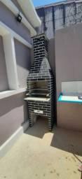 Churrasqueiras pré Moldada a carvão modelo tijolinho pequena e média