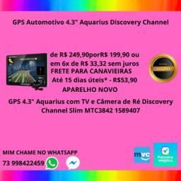 "GPS Automotivo 4.3"" Aquarius Discovery"