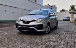 Etios Sedan XS Automatico com GNV - Unico dono - Entrada +Parcelas em até 60 Meses