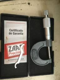 Micrômetro ZAAS 0-25mm / 0,01mm