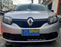 Renault sandero authentique 1.0 12v sce 3cil flex 4p prata 2018 25.400km ipva2020pgvist