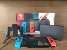 Nintendo Switch Semi-novo Impecável!!