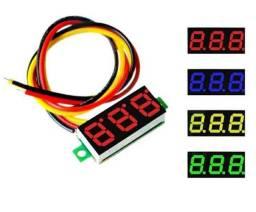 Mini voltímetro digital - medidor de bateria
