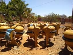 Alugo Betoneira, martelete, Compactador de solo e muito mais